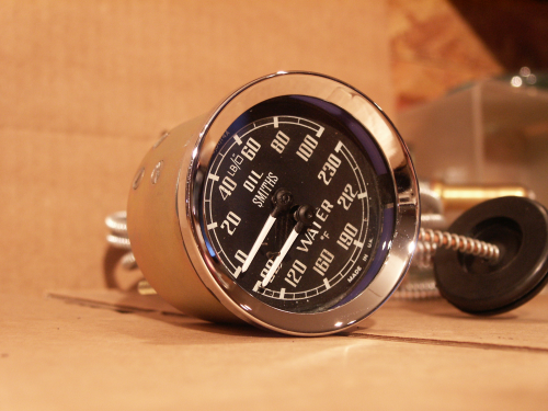 SMITHS DUAL OIL/WATER GAUGE