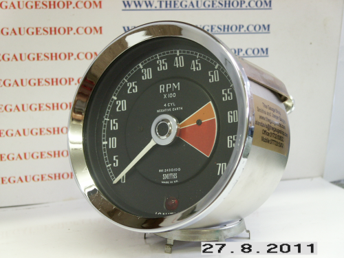 SMITHS REV COUNTER----RVI 2430/00----converted to electronic